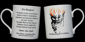 Burning Bartle Mug